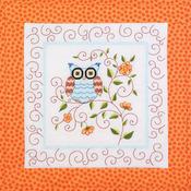 "15""X15"" 6/Pkg - Owl Quilt Blocks Stamped Cross Stitch"