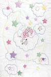 "Dreamland - Stamped White Quilt Crib Top 40""X60"""