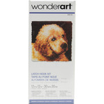 "Puppy Love - Wonderart Latch Hook Kit 12""X12"""