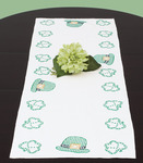 """St. Patrick's Day - Stamped Table Runner/Scarf 15""""X42"""""""