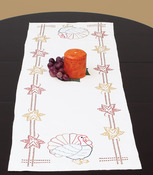 "Thanksgiving - Stamped Table Runner/Scarf 15""X42"""