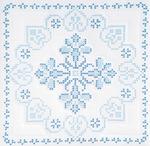 "XX Americana - Stamped White Quilt Blocks 18""X18"" 6/Pkg"