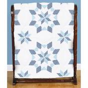 """Interlocking XX Western Star - Stamped White Quilt Blocks 18""""X18"""" 6/Pkg"""