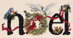 """14-1/4""""X7"""" 14 Count - Noel Counted Cross Stitch Kit"""