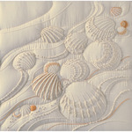 """14""""X14"""" - Ocean's Edge Candlewicking Embroidery Kit"""