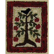 "3""X4"" - Apple Tree Punch Needle Kit"