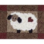 """3.75""""X4"""" - Sheep Punch Needle Kit"""