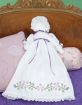 XX Starflowers - Stamped White Pillowcase Doll Kit
