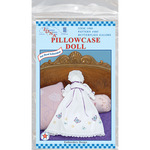 Butterflies Galore - Stamped White Pillowcase Doll Kit