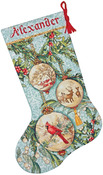 "16"" Long 16 Count - Gold Collection Enchanted Ornament Stocking Counted Cross St"