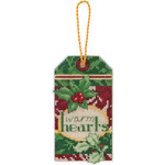 "Susan Winget Warm Hearts Ornament Counted Cross Stitch Kit-2-3/4""X4-3/4"" 14 Coun"
