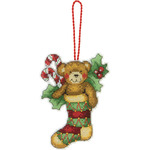 Susan Winget Bear Ornament Counted Cross Stitch Kit