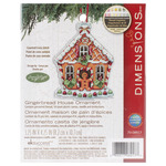 Gingerbread House Counted Cross Stitch Kit - Susan Winget