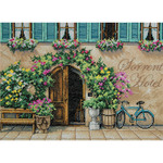 "14""X10"" 14 Count - Sorrento Hotel Counted Cross Stitch Kit"