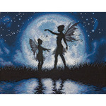 "14""X11"" 14 Count - Twilight Silhouette Counted Cross Stitch Kit"