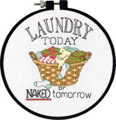 Laundry Today - Learn - A - Craft Counted Cross Stitch Kit