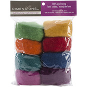 Rainbow - Feltworks Roving Value Pack 2.8oz