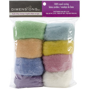 Pastel - Feltworks Roving Value Pack 2.8oz