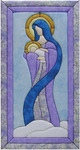 "10""X19"" - Mary & Baby Jesus Quilt Magic Kit"