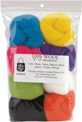 "Classic - Wool Roving 12"" .25oz 8/Pkg"