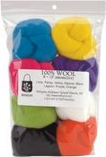 """Classic - Wool Roving 12"""" .25oz 8/Pkg"""