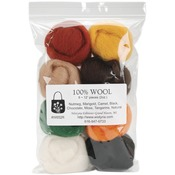 "Bold - Wool Roving 12"" .25oz 8/Pkg"