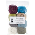 "Chic - Wool Roving 12"" .25oz 8/Pkg"