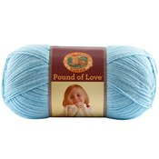 Pastel Blue - Pound Of Love Baby Yarn