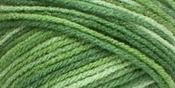 Green Tones - Red Heart Super Saver Yarn