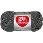 Grey - Red Heart Reflective Yarn