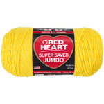 Bright Yellow - Red Heart Super Saver Yarn