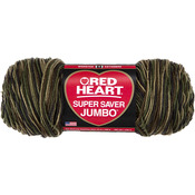 Camouflage - Red Heart Super Saver Yarn