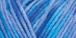 Turquoise/Blue Prints - Red Heart Comfort Yarn