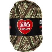 Light Camo Print - Red Heart Comfort Yarn