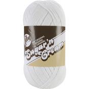White - Sugar'n Cream Yarn Solids Big Ball