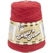 Red - Sugar'n Cream Yarn Cones