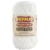 White - Handicrafter Cotton Yarn Solids 400g