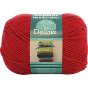 Poppy Red - Handicrafter DeLux Cotton Yarn