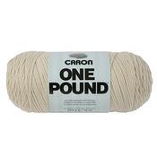 Off White - Caron One Pound Yarn