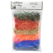 Sunset Blend - Angelina Crimped Cut Fibers .1oz 6/Pkg