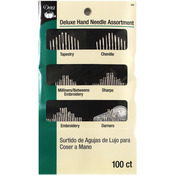 Assorted 100/Pkg - Deluxe Hand Needles