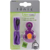 Purple W/Pink, Green Or Yellow Kushgrip - Yarn Cutter W/Lanyard
