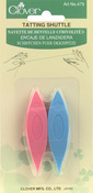 2/Pkg Colors Vary - Plastic Tatting Shuttles