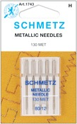 Size 12/80 5/Pkg - Metallic Machine Needles