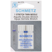 Size 4.0/75 1/Pkg - Stretch Twin Machine Needle