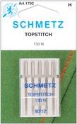 Size 12/80 5/Pkg - Topstitch Machine Needles