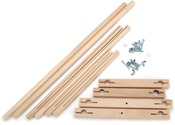 Split Rail Scroll Frame Set-