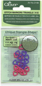 Sizes 0-4 24/Pkg - Triangle Stitch Markers Extra Small