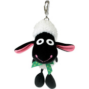 Big Head Sheep Soft Key Ring
