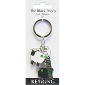 The Black Sheep Charm Key Ring